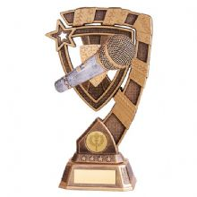 Euphoria Microphone Singing Trophy
